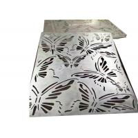 Buy cheap Curved Decorative Sheet Metal Panels Special Designed With Galvanized Surface from wholesalers