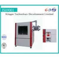 China 202# SS Funnel Type Dust Resistance Test Chamber External Size 1000*W1000*H1000mm wholesale