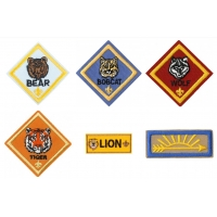China ODM Self Adhesive Custom Boy Scout Patches For Adventure Camping wholesale