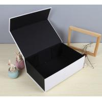 China Black Luxury Paper Gift Box Custom Printed Stationery Boxes wholesale