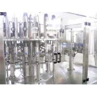 Buy cheap PET Bottle Hot Filling Machine , Automatic 3 in 1 Beverage Filling Production Line from wholesalers