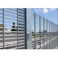 Buy cheap Hot Dipped Galvanized High Security Metal Fencing( mesh size 12.7mmX76.2mm) from wholesalers