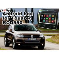 Buy cheap Android 5.1 GPS Navigation Box Video Interface For Touareg RCD550 Offline from wholesalers