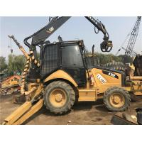 China Used Loader backhoe for sale/used caterpillar 416E/420F/422F/428F backhoe loader with hammer for sale wholesale