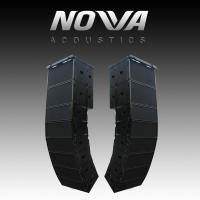 "Buy cheap Dual 10"" 16Ohm Audio Music Sound System Line Array For Touring / Living Show from wholesalers"