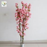China UVG CHR090 3ft Pink cherry flower wedding tree for table centerpiece indoor decoration wholesale