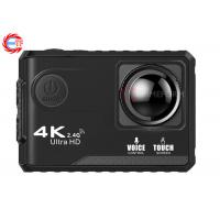 Buy cheap Voice Control EF100P Wifi 4K Action Camera 2.0 Touch Screen with Gyro and Remote, GPS Extension as option from wholesalers