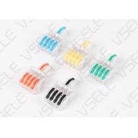 China 1 In 4 Out PC PA AWG Cable Electrical Wire Connectors on sale