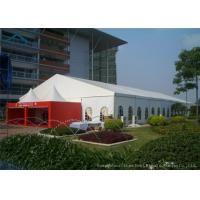 Wind Resistant Extensive Outdoor Event Tents With Fabric Material For 200 People