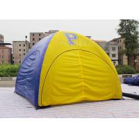 China Customized Inflatable Event Tent , Inflatable Display Tent With Logo Printing on sale