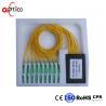 China High Reliability ABS Box Optical Cable Splitter , SC/APC 2.0mm 1x32 PLC Splitter wholesale