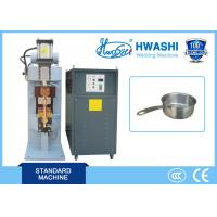 China Automatic DC Capacitor Discharge Spot / Projection Welding Machine for  Aluminum Cookware wholesale