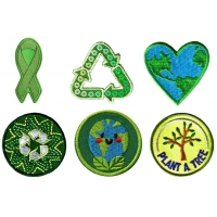 China Twill Woven Environmental Patches wholesale