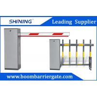 Buy cheap 3-6m Remote Control Boom Barrier Gate 60 W Car Park Boom Gates With Safety Sensor from wholesalers