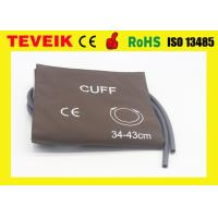 China M1575A PU Material Blood Pressure Cuff for Large Adult ,Single hose wholesale