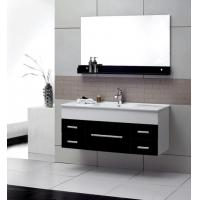 Quality 4mm silver glass mirror modern wall mounted bathroom vanities 32 inch plywood for sale