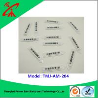 Buy cheap 58khz Customized Am Label Eas Soft Tags Barcode Color Eas Soft Label TMJ-AM-204 from wholesalers