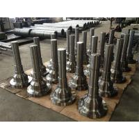 China Forged Forging Steel CNC machined Turned Turning Machining Milling Spindles Shafts Ends Heads wholesale