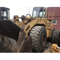 China Secondhand Cheap original USA used caterpillar 966E/966F/966F2 used wheel loader for sale/secondhand wheel l on sale