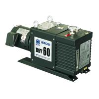 China Small BSV60 60m3/H 2 Stage Oil Sealed Rotary Vacuum Pump Oil Anti Return System wholesale
