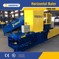 Quality CE Certification Hydraulic Horizontal PET Bottle Baler for sale