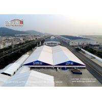 China Aluminum and PVC large clear span frame expo event tent, big clear span aluminum and PVC tent for exhibition wholesale