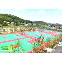 Buy cheap Recycled Basketball Sport Court Surface Gym Floor Coating Tennis Court coating from wholesalers
