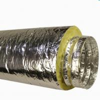 Insulated Flexible Duct With Fberglass Wool