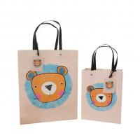 China Card Paper Fashion Shopping Bags Simple Style wholesale