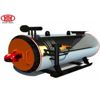Horizontal Gas Oil Thermal Oil Heater / Hot Oil Boiler For Textile Industry