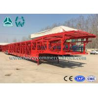 Quality Hydraulic System Car Carrier Semi Trailer For Auto Transportation for sale