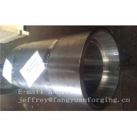 China 16Mo3 Steel Forged Ring Forged Cylinder Flange Heat Treatment And Machined wholesale
