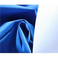 China Blue 196T Polyester Taslan Fabric 75 * 160D , Soft Rayon Spandex Knit Fabric wholesale