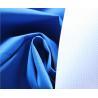 China Blue 196T Polyester Taslan Fabric 75 * 160D , Soft Rayon Spandex Knit Fabric wholesale
