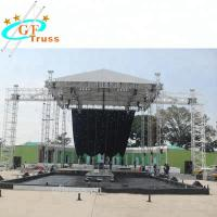 China Oxford Aluminum Party Tent Customized Curved Truss System Light Weight wholesale