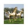 China Modern Garden Decoration Metal Bronze Horse Sculpture , Bronze Horse Statue wholesale