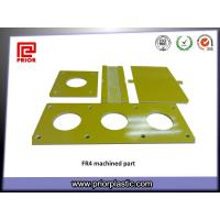 Buy cheap Precision Machined Parts Made by Fr4 fiberglass Sheet from wholesalers