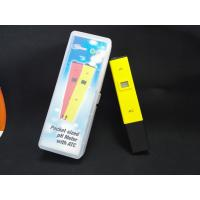 China China Cheepest waterproof PH temp meter pen type of PH with ATC wholesale