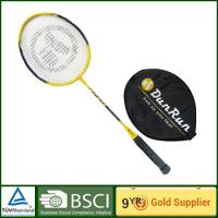 China 1 / 2 cover Graphite Alloy Badminton Rackets for sporting , aluminum badminton rackets on sale