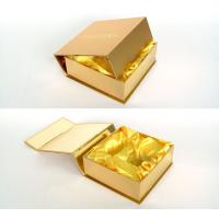China Customized Gold Present Wine Gift Cardboard Boxes with Lids for Wedding on sale