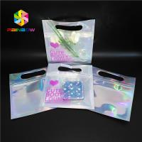 Buy cheap Bikini Garments Plastic Pouch Packaging Hologram 3d Material Stand Up Bag With from wholesalers