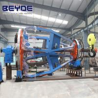 China Cable Manufacturing Equipment Assemble Holder , Big Bearing Laying Up Machine wholesale