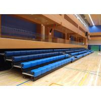 Quality Power Control Retractable Grandstands Retractable Seating System Recessed Polymer Bench for sale