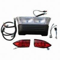 China Gas Light Kits with Screw Tabs on Taillights and Headlight Clear Lens, Shock-resistant wholesale