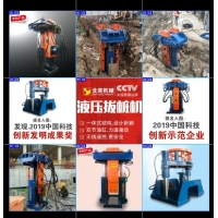 China BEIYI hydraulic pile extractor pile pulling machine for all round piles wholesale