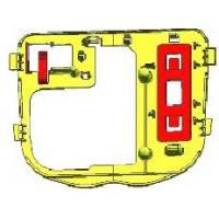 China Custom Best Quality Yellow Metal Mirror Mounting Bracket for Automotive Repair wholesale