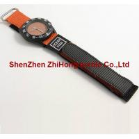 China New style replaceable sewn nylon hook loop webbing watch wrist band ties wholesale