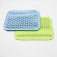 Buy cheap Wholesale silicone dish mat heat resistant trivet glass cup collapsible kitchen from wholesalers