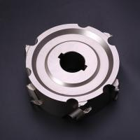China Diamond PCD Milling Cutter , Woodworking Indexable Face Mill High Performance wholesale