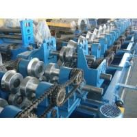 China Customized CZ Purlin Roll Forming Machine , Electric Fully Automatic C Purlin Machine wholesale